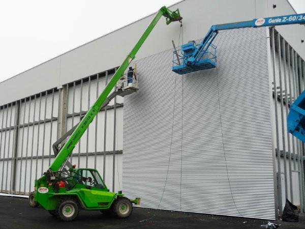 Installazione e montaggio pannelli edilizia